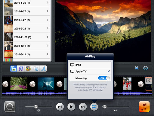 how to put photos on apple tv from ipad